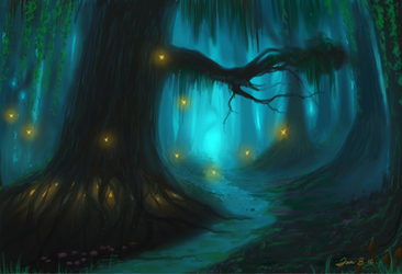 Enchanted Forest by brokeman29