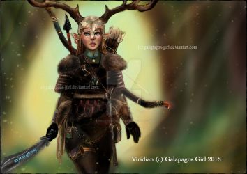Mistress of the High Wood by Galapagos-Girl