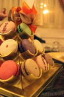 Forrey and Galland Macarons by ai-chyan
