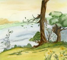 Shire Landscape by EsBest