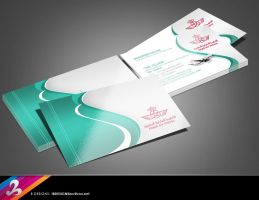 Airline Business Card by AnotherBcreation