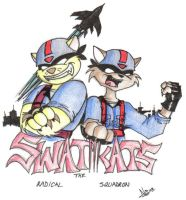 Swat Kats by TheNekoStar