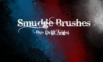 Smudge Brushes by drift-Angel