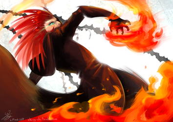 Wrath of Flames by Chirpy-chi