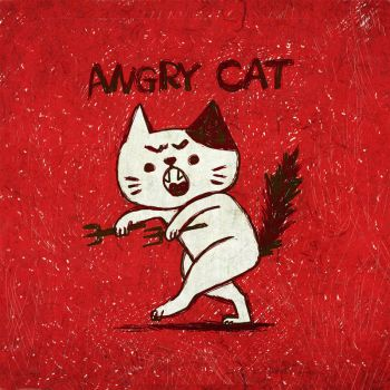 Angry Cat by totostark