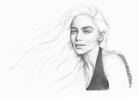 mother of dragons by Mafin10