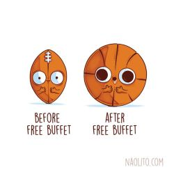 Before After Free Buffet by Naolito