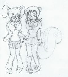 squirrel and bunny tf tg by darkswabber