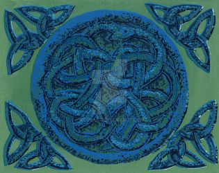 Celtic Snakes by alura5