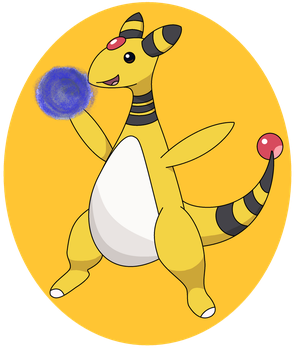 POKEDDEXY CHALLENGE 2015 DAY 4 -Electric- Ampharos by Ninja3lf