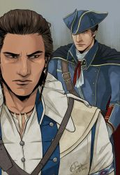 Assassin's Creed  - Haytham and Connor by WinglyC