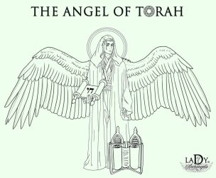 The Angel of Torah by Lady7Archangels by lady7archangels