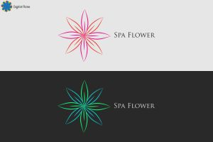 Logo-Spa Flower by artdigitalazax