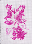Rayman 1 Random Sketches xD by EvelynChodura
