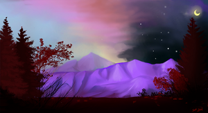purple mountain majesty by Rageaholic7898