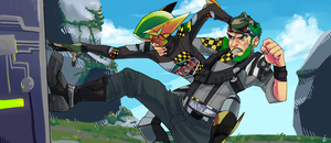 me and my friend play borderlands2 by Tinypop