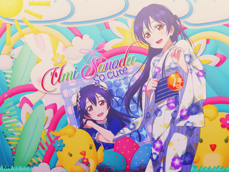 [Laptop BG] Umi Sonoda Theme. by Ai-chan2003