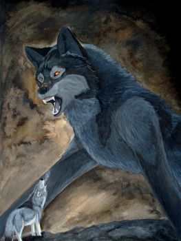 Fearless for Fenrir by LabradoriteWolf