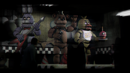 [SFM FNAF] Daytime at Freddy's! by SkyProductions12