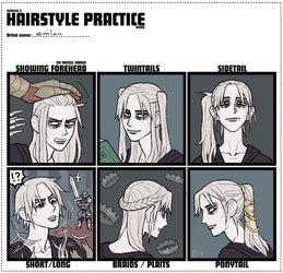 lothric gets his hair did by emlan