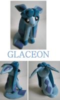 AT: Glaceon by Foureyedalien