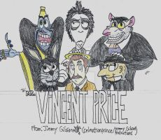 Vincent Price Tribute by CelmationPrince