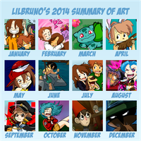 Summary of Art 2014 by LilBruno