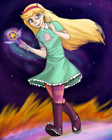 Star Butterfly by ShadowClawZ