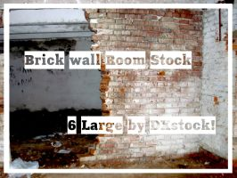 Brick wall. Room Stock Pack by DXstock