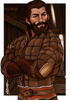 Dragon Age Inquisition Blackwall / Thom Rainier by dreNerd