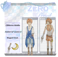 Zero Period : Clitheroe Riddle by sendichic