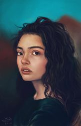 Pretty Portrait by jowyn