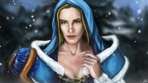 Crystal Maiden - Heart of the North by Silver-Fate