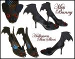 Bat Shoes. by miss-bunny-shoes