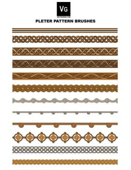 Pleter Pattern Brushes by vectorgeek