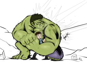 Hulk Protect Banner by jeshwey