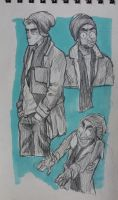sketchbook page 9 by IvaTheHuman