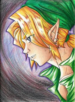 Into Darkness: Link by AnimeJanice