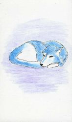Blue Wolf by Haloquin