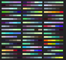 Free Color Pallets by Kainaa