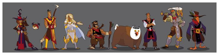 DnD Party : XVII by hangemhigh13