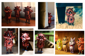 Foxy Figurines SOLD OUT by CassowaryRoom
