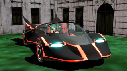 [DL] MMD Batmobile Prototype by Maddoktor2