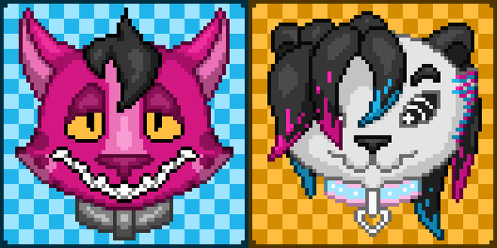 Free pixel icon commissions for the holidays! by knux400