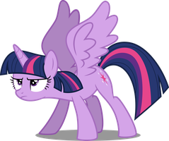 Twilight's take off by DecPrincess