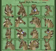 I'm in your 'Horse' MEME... by zonkey