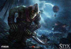 Styx: Shards of Darkness cover art by Yellomice