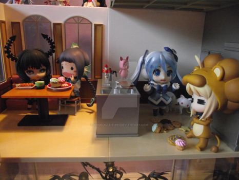 Nendo Cafe Display by AngelKatie1991