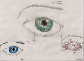 realistic eyes by frostviper101