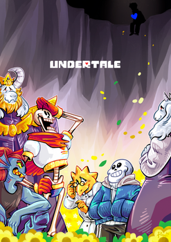 Here's to Undertale by neonUFO
